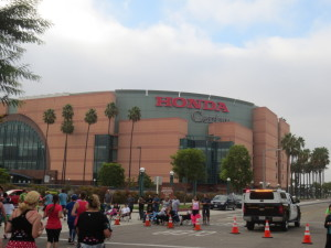 Welcome to the Honda Center, more than halfway done!