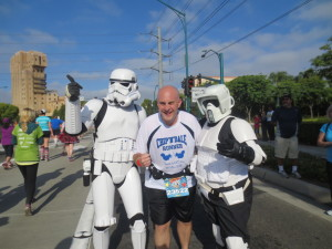 I might be the droid they were looking for. (What's up with the out of shape stormtrooper on the right?)