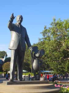 Walt and Mickey! Where it all began...