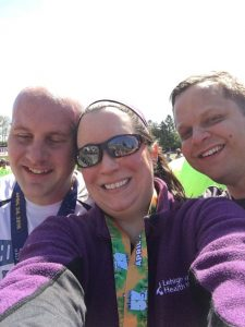 Pic with Jen (the one who got me into this crazy sport back in 2013) and her husband Eric!