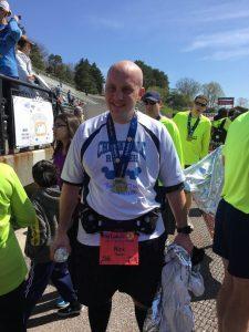 Lucky #13 Half Marathon Complete! St. Luke's 2016!