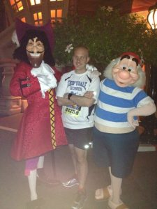 Couldn't resist a pic with Hook and Smee